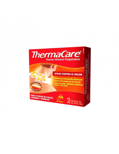 PARCHES  THERMACARE CUELLO HOMBR...